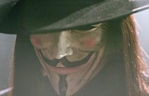 V for Vendetta's Guy Fawkes